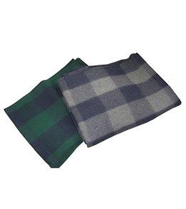 Hugger Mugger Plaid Wool Yoga Blanket