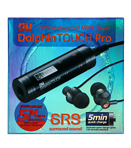 Nu Technology Dolphin Touch Pro 4GB Waterproof MP3 Player