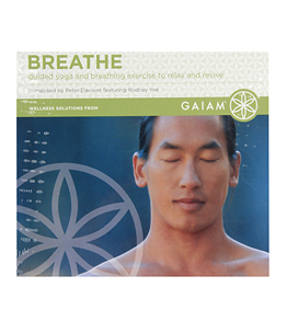 Gaiam Breathe Audio CD