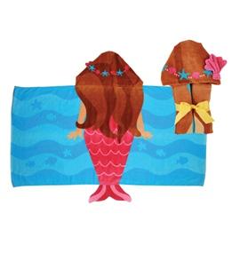 Stephen Joseph Kids' Mermaid Hooded Towel