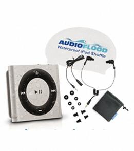 AudioFlood Waterproof iPod Shuffle Bundle (4th Gen)