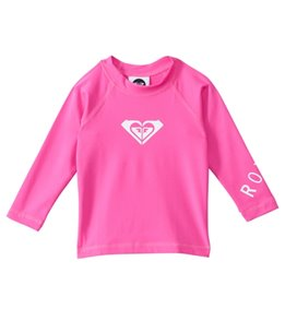 Roxy Girls' Whole Hearted Infant L/S Rashguard