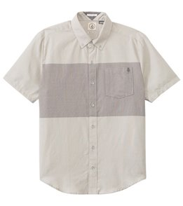 Volcom Men's Weirdoh Big Stripe S/S Shirt