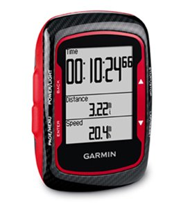 Garmin Edge 500 Bike Computer Bundle- Red