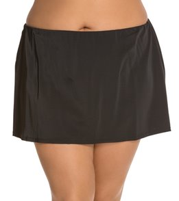 South Point Solid Plus Size High Tide Skirt