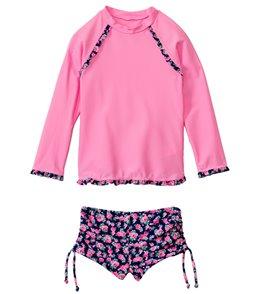 Seafolly Girls Rosie Lane UV Sunvest Set (6mos-7yrs)