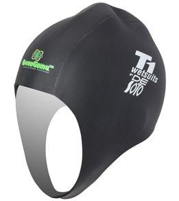 DeSoto GreenGoma Rubber Swim Cap