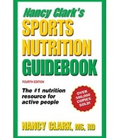 Human Kinetics Nancy Clark's Sports Nutrition Guidebook 4th Edition