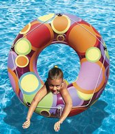 Poolmaster 48 Bright Colors Circles Pool Tube