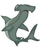 H2O-Toos Swim Tattoos Hammerhead