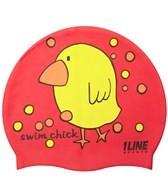1Line Sports Swim Chick Silicone Cap