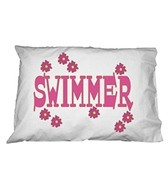 1Line Sports Flower Swimmer Pillow Case