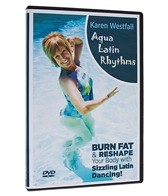 Water Works Aqua Latin Rhythms DVD
