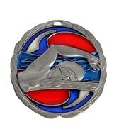 2.5 Swimming Die Cast Suncatcher Medal