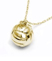 Sports Collection Jewelry Large Water Polo Ball Pendant 14k Gold