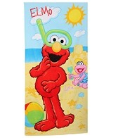 JP Imports Elmo & Lola Sandcastle Beach Towel