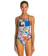 Turbo Comic One Piece Swimsuit