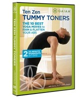 Gaiam Ten Zen Tummy Toners DVD