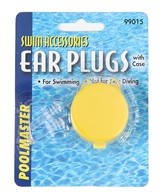 Poolmaster Universal Ear Plugs with Case