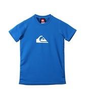 Quiksilver Boys' Solid Streak S/S Surf Shirt