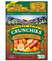 Crunchies Tropical Fruit Freeze-Dried Snacks