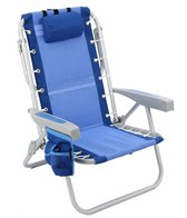 Rio Brands Aluminum Backpack Chair W/ Cooler Pouch
