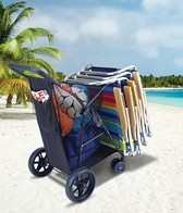Rio Brands Wonder Wheeler Plus Beach Cart