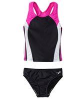 Speedo Girls' Infinity Splice Tankini Two Piece Set (7yrs-16yrs)