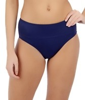 South Point Solid High Tide High Waist Bottom