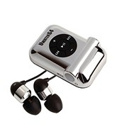 Fitness Technologies UwaterG4 Chrome Waterproof MP3 Player
