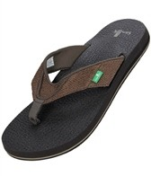 Sanuk Men's Beer Cozy Jute Sandals