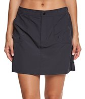Maxine Solid Woven Boardskirt