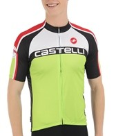 Castelli Men's Velocissimo DS Full Zip Cycling Jersey
