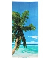 S B Designs Palm Tree 30x60 Towel