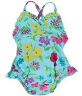 iPlay Girls' Ultimate Swim Diaper Tanksuit