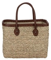 Sun N Sand Woodland Hue Straw Square Tote