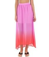 Rhythm Women's Fadin' Out Maxi Skirt