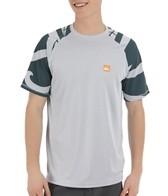 Quiksilver Waterman's Pacific S/S Relaxed Fit Bamboo Mesh Surf Shirt