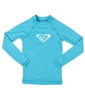 Roxy Girls' Rox A Lot L/S Fitted Rashguard