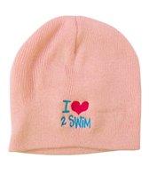 Image Sport I love to Swim Beanie