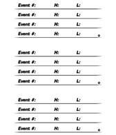 H2O-Toos Swim Tattoos Event Participation