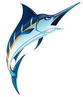 H2O-Toos Swim Tattoos Marlin