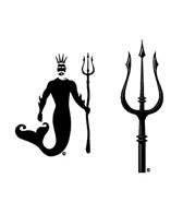 H2O-Toos Swim Tattoos Poseidon