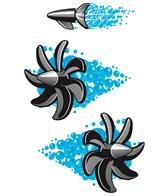 H2O-Toos Swim Tattoos Torpedo Speed