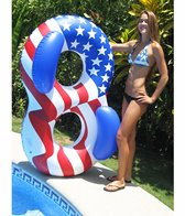 Swimline Americana Double Ring Lounger