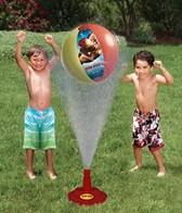Swimways Hover Ball Sprinkler - Disney/Marvel