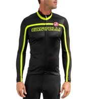 Castelli Men's Velocissimo Team L/S FZ Cycling Jersey