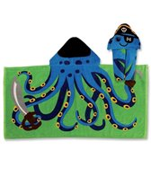 Stephen Joseph Kids' Octopus Hooded Towel