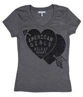 O'Neill Girls' Heart Glory Days  S/S Tee (7-14)