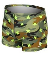 TYR Camo Star All Over Square Leg